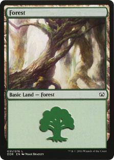 Forest (31) card from Duel Decks: Nissa vs. Ob Nixilis