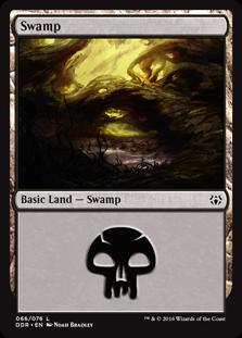 Swamp (66) card from Duel Decks: Nissa vs. Ob Nixilis