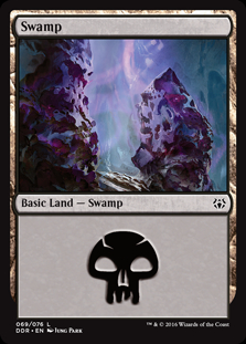 Swamp (69) card from Duel Decks: Nissa vs. Ob Nixilis