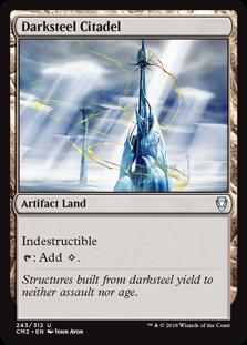 Darksteel Citadel card from Commander Anthology Volume II