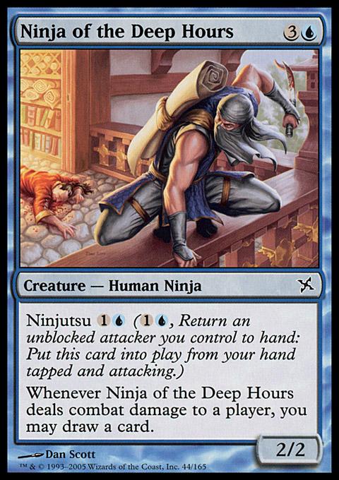Ninja of the Deep Hours card from Betrayers of Kamigawa