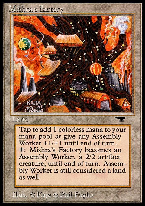 Mishra's Factory (Fall) card from Antiquities