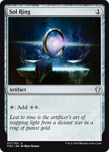 Sol Ring card from Commander Anthology Volume II
