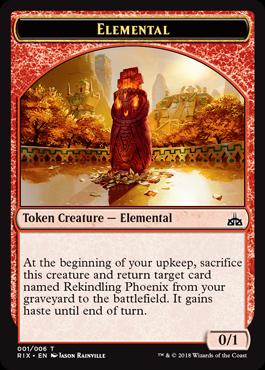 Elemental Token (001)