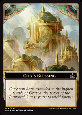 City's Blessing Token (006)