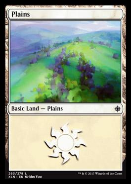 Plains (263) card from Ixalan