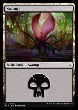 Swamp (271) card from Ixalan
