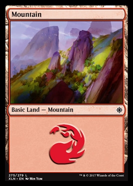 Mountain (275) card from Ixalan