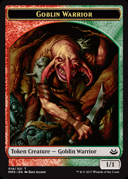 Goblin Warrior Token