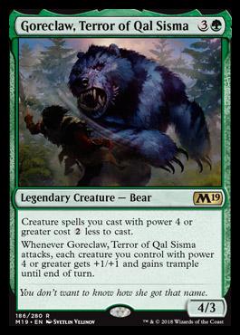 Goreclaw, Terror of Qal Sisma