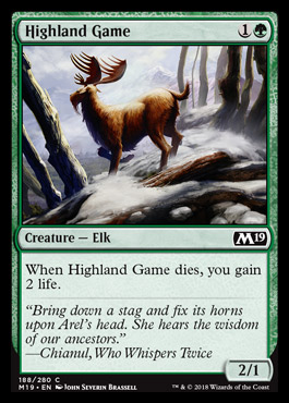 Highland Game original card image