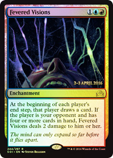 Fevered Visions card from Prerelease Cards