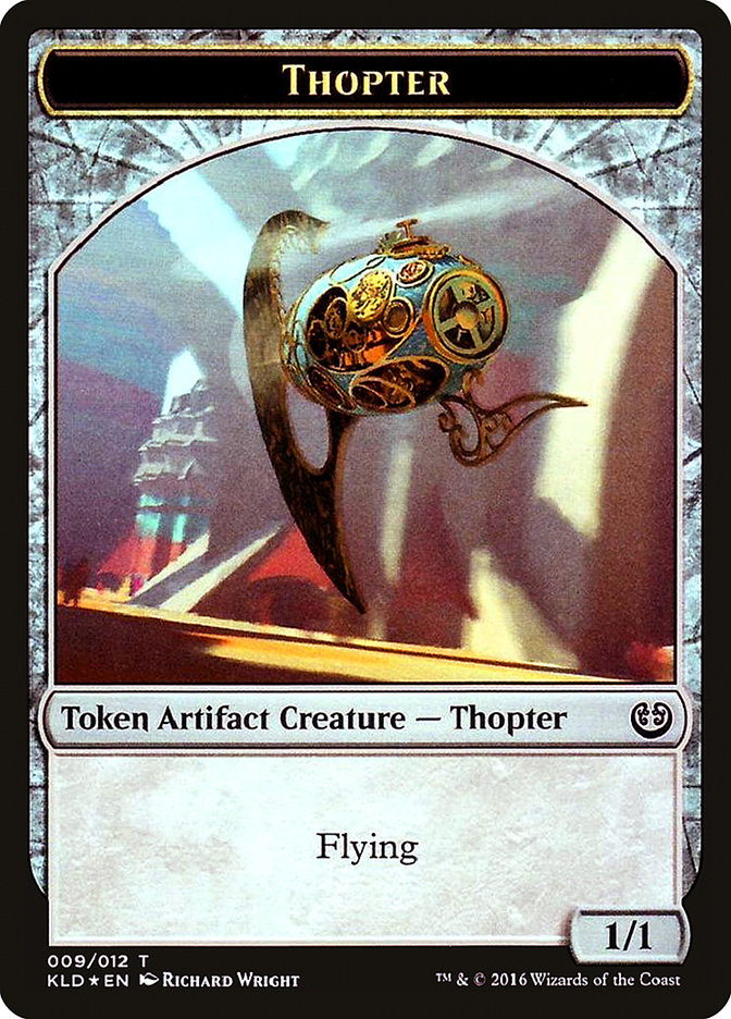 Thopter // Servo Double-sided Token