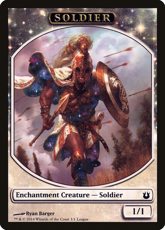 Soldier Token (Born of the Gods)