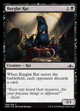 Burglar Rat