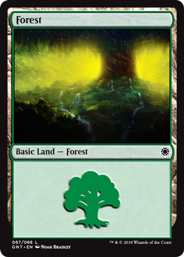 Forest (67) card from Game Night