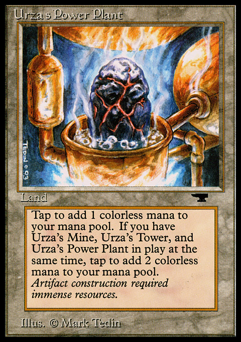 Urza's Power Plant (Rock in Pot)