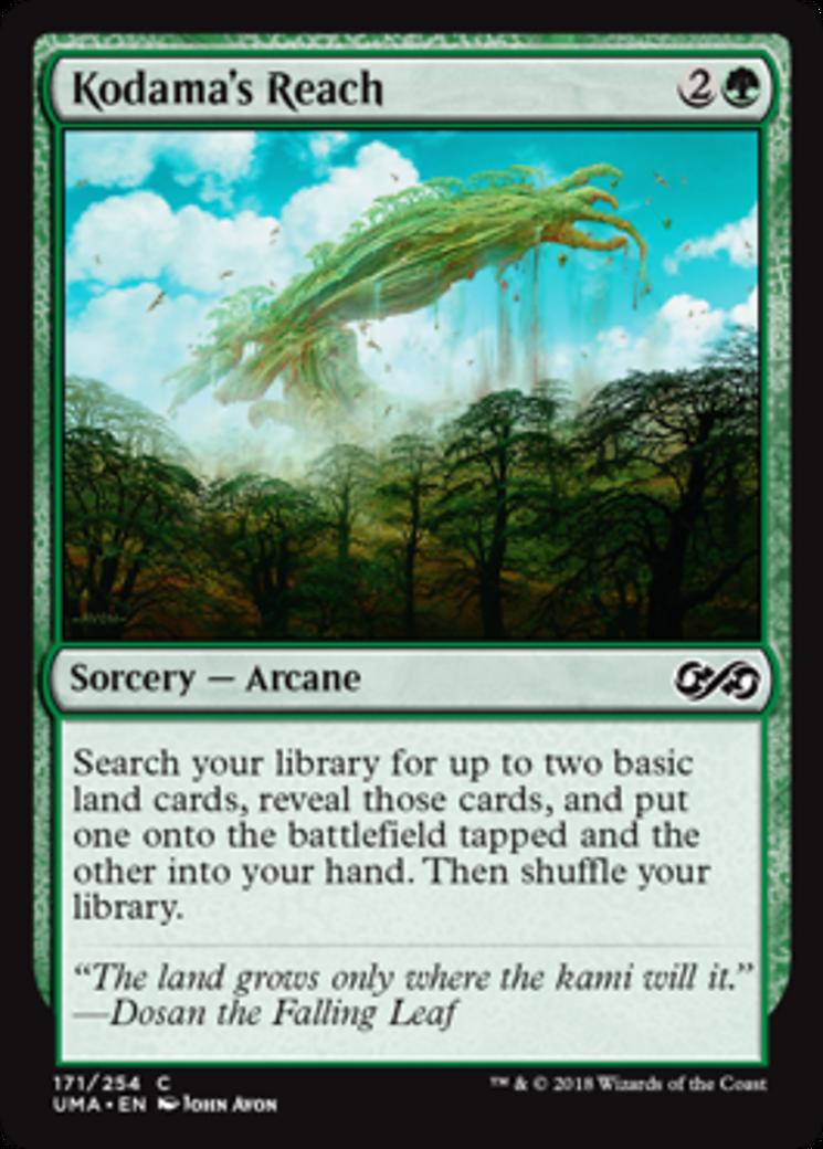 Kodama's Reach card from Ultimate Masters