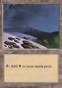 Plains (344) card from Ice Age
