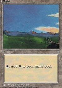 Plains (345) card from Ice Age