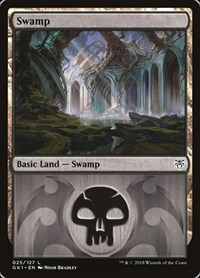 Swamp (25) card from Guilds of Ravnica: Guild Kits