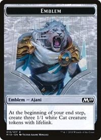 Emblem - Ajani, Adversary of Tyrants