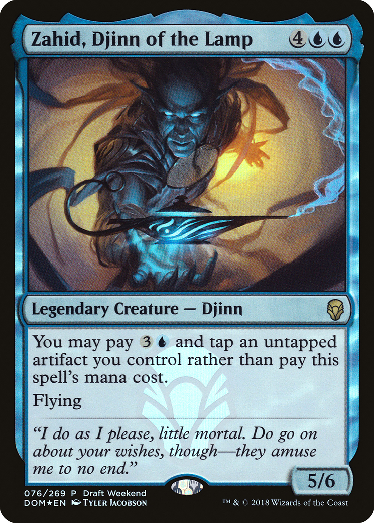 Zahid, Djinn of the Lamp (Draft Weekend)