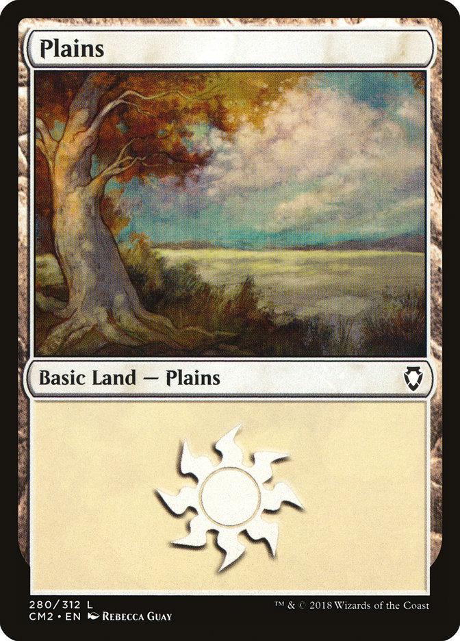 Plains (280) card from Commander Anthology Volume II