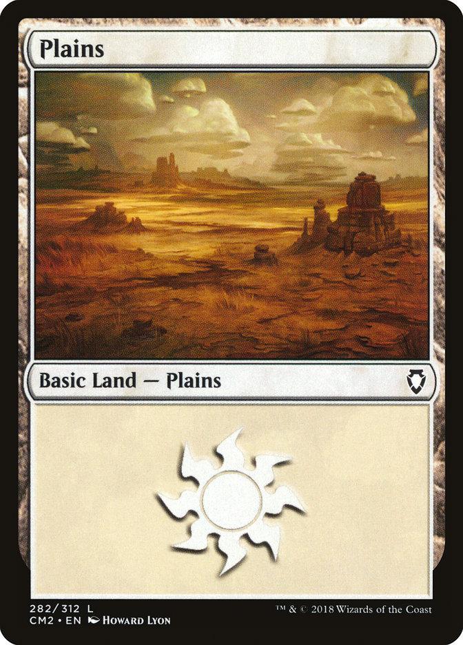 Plains (282) card from Commander Anthology Volume II