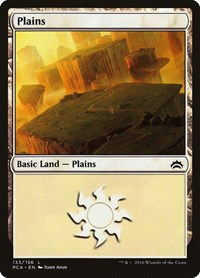 Plains (133) card from Planechase Anthology