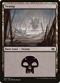 Swamp (146) card from Planechase Anthology