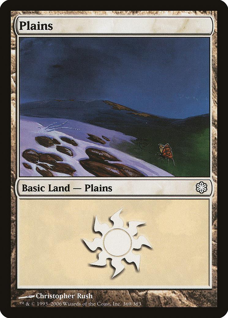 Plains (369) card from Coldsnap Theme Deck Reprints