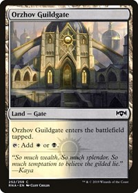 Orzhov Guildgate (252)