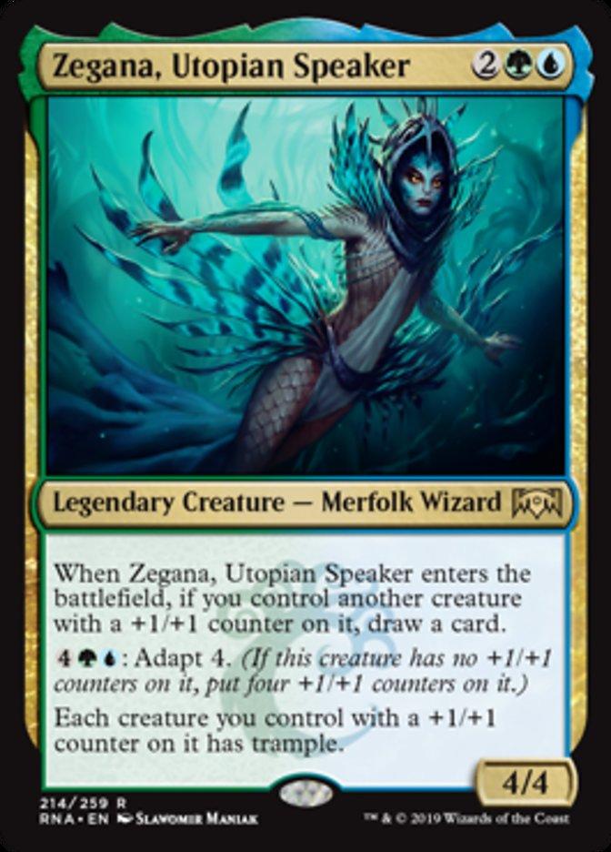 Zegana, Utopian Speaker