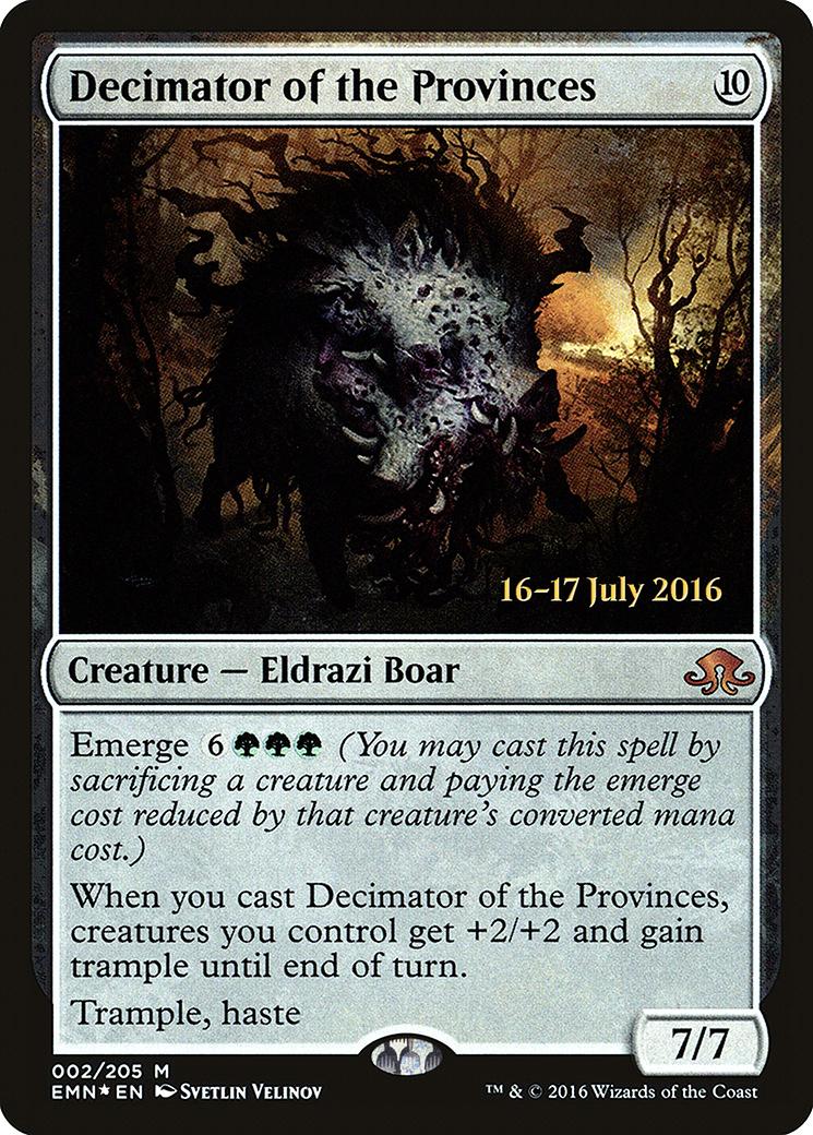 Decimator of the Provinces