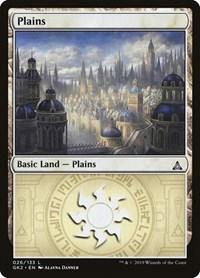 Plains (26) card from Ravnica Allegiance: Guild Kits