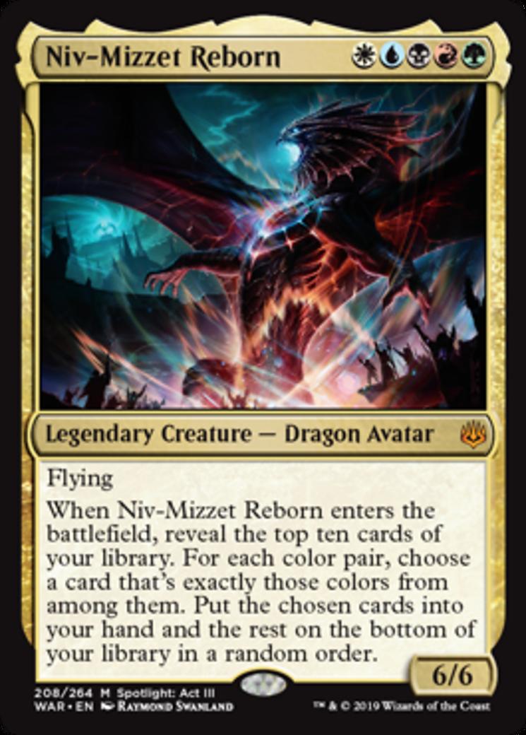 Niv-Mizzet Reborn