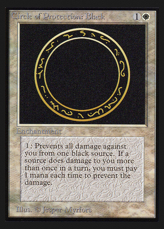 Circle of Protection: Black (IE)