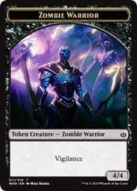 Zombie Warrior Token