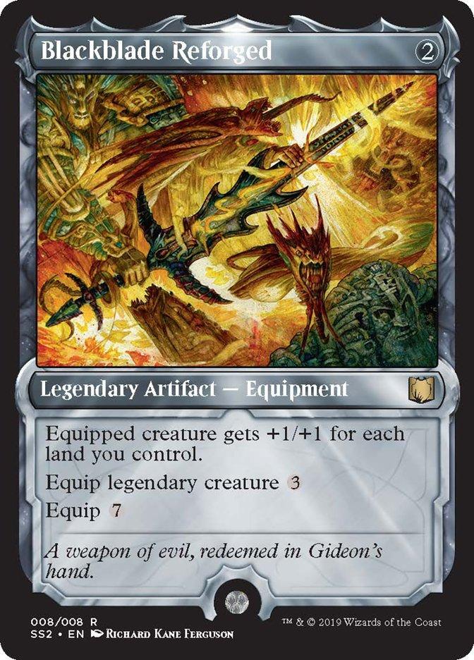 Blackblade Reforged card from Signature Spellbook: Gideon