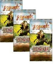 Zendikar - 3x Booster Packs (draft set)