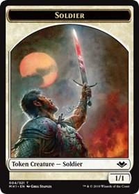 Soldier Token (004) card from Modern Horizons