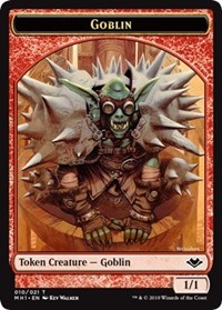 Goblin (010) // Emblem - Wrenn and Six (021) Double-sided Token