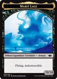 Marit Lage (006) // Elemental (008) Double-sided Token