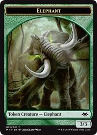 Elephant (012) // Spirit (016) Double-sided Token