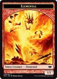 Elemental (008) // Bear (011) Double-sided Token