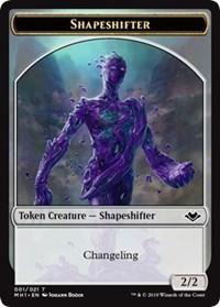 Shapeshifter (001) // Golem (018) Double-sided Token
