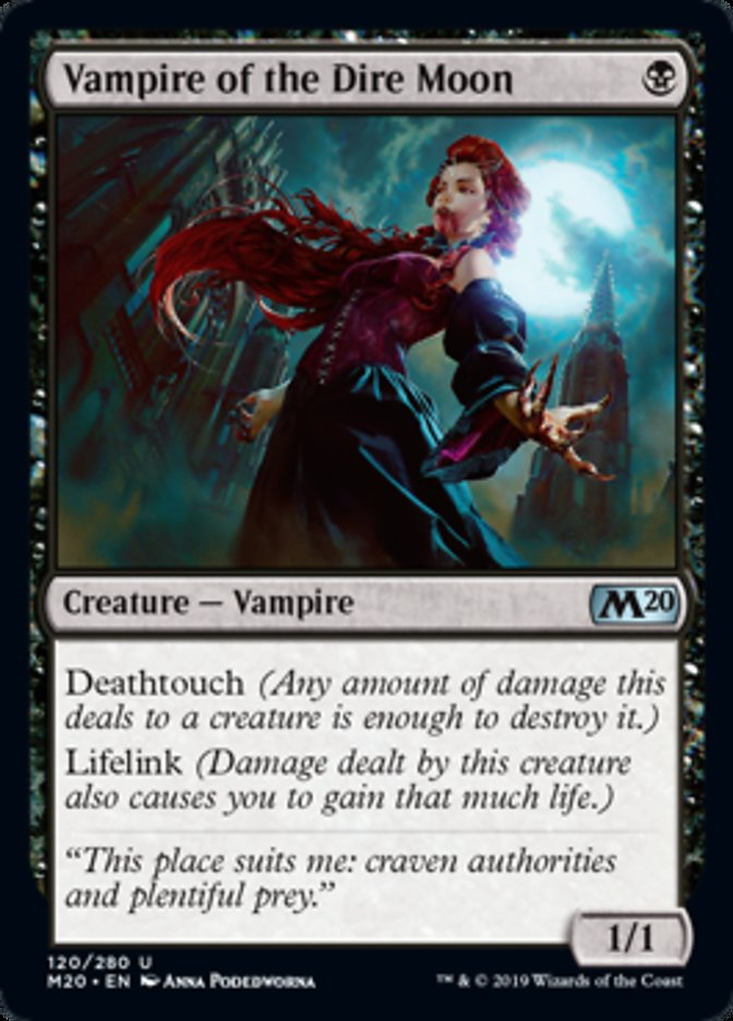 Vampire of the Dire Moon