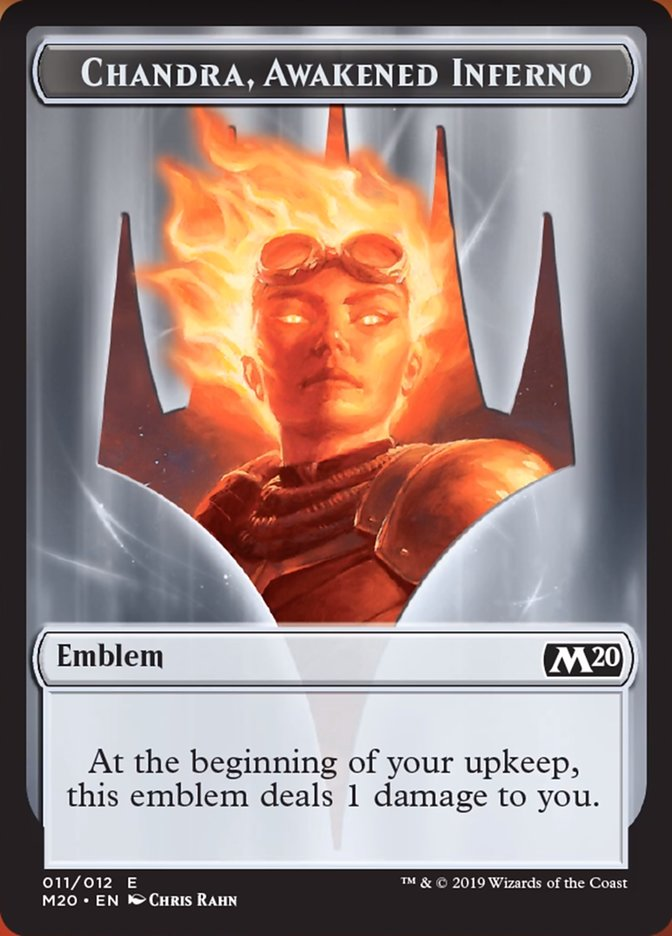 Emblem - Chandra, Awakened Inferno