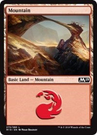 Mountain card from Core Set 2020